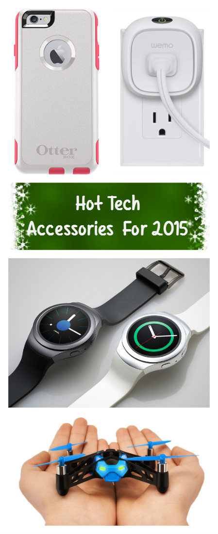 Do you have tech minded person on your holiday gift list this year? Get them one of these hot tech accessories for 2015!