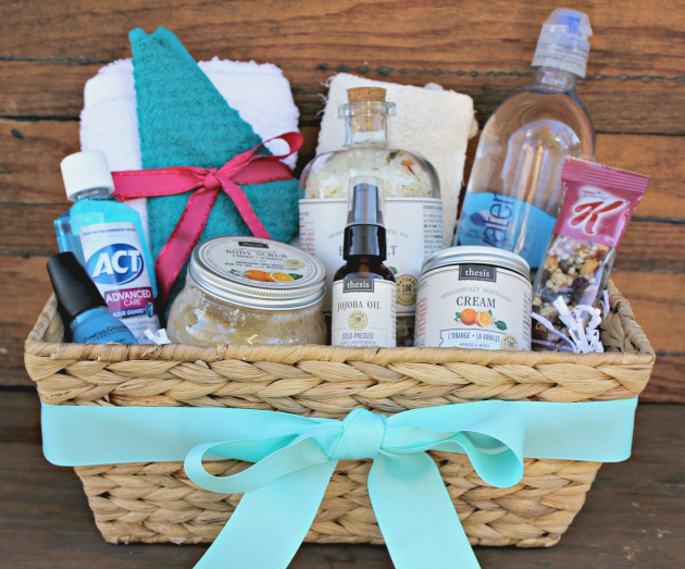 How To Create A Spa Gift Basket 1