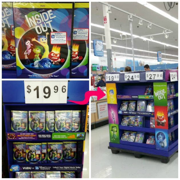 Helping Kids Express Emotions Through Play #InsideOutEmotions In Store Photo