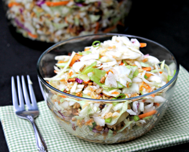 Nutty Asian Ramen Noodle Salad 3