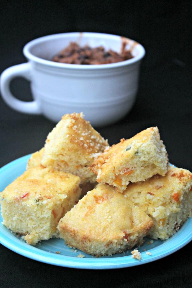 Sweet & Spicy Southwest Corn Bread 1