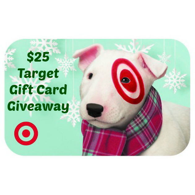 $25 Target Gift Card Giveaway