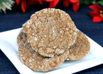 Chewy Gingerbread Cookie Recipe