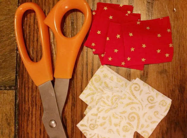 #SlimJimYourHoliday fabric squares