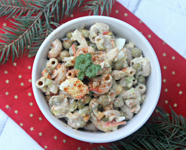 Whole Grain Tuna Macaroni Pasta Salad 4