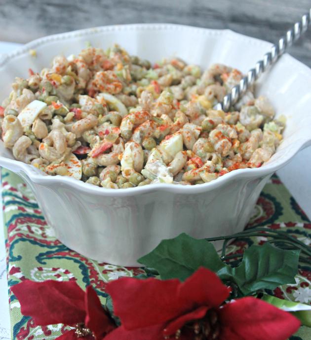 Whole Grain Tuna Macaroni Pasta Salad 7
