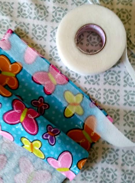 DIY No Sew Relaxing Sleep Pillow tape
