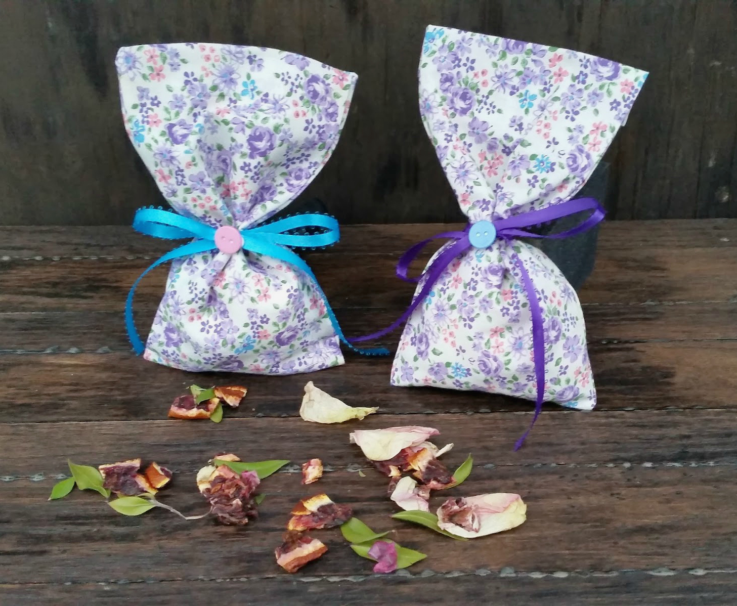 Homemade Potpourri And Sachet Bags 1