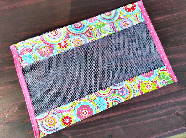 Easy To Sew DIY Mesh Laundry Bag bag