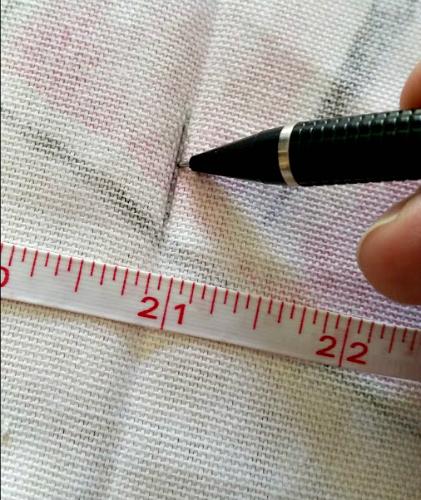 DIY No Sew Tote Bag Step 1