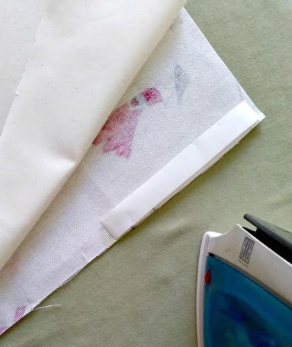 DIY No Sew Tote Bag Step 4