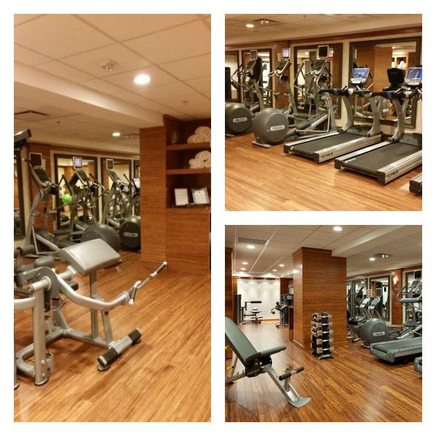 Hutton Hotel in Nashville gym