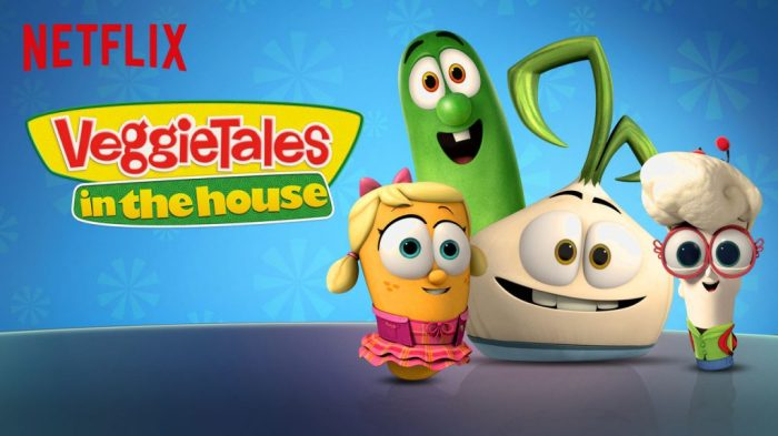 Talking Tough Topics with Your Kids veggie tales