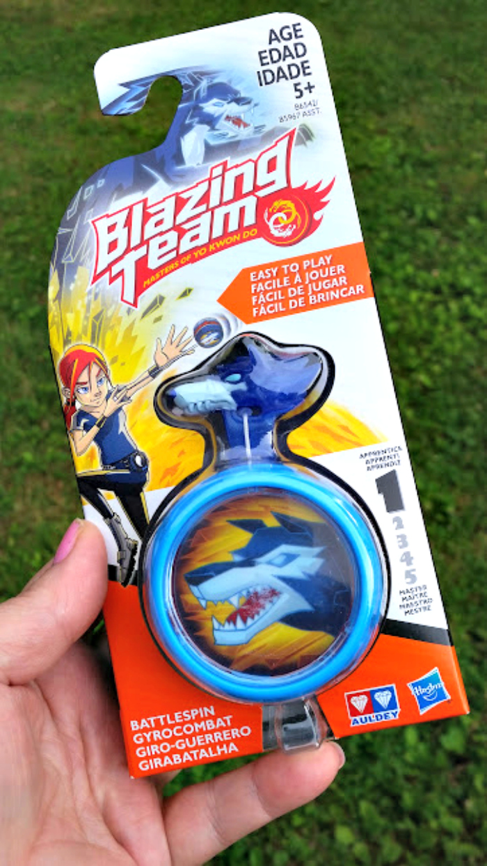 Celebrate #NationalYoYoDay With Blazing Team battlespin