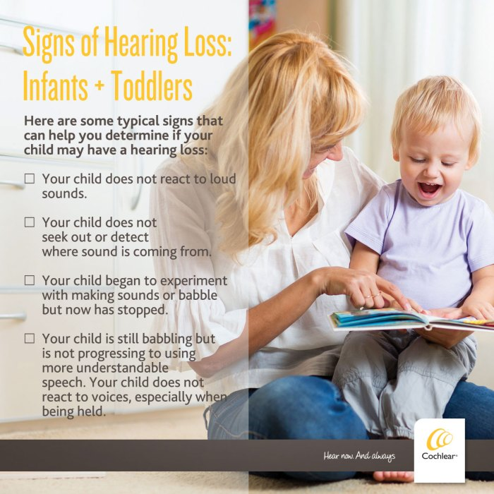 A Parent's Wish For A Child With Hearing Loss? signs