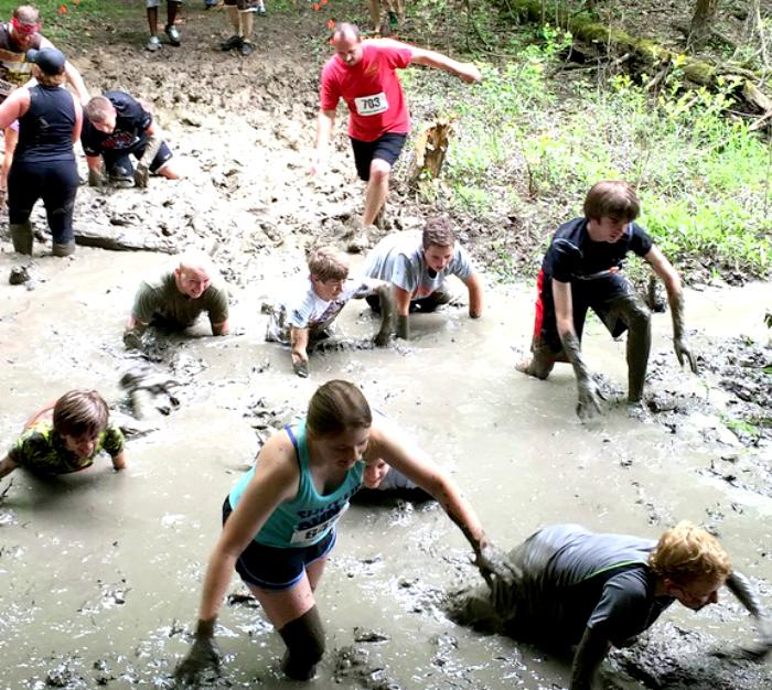 Mudder's Day Madness 5K mud