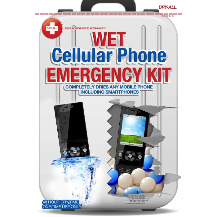 Tips For Salvaging Your Wet Cell Phone dry all