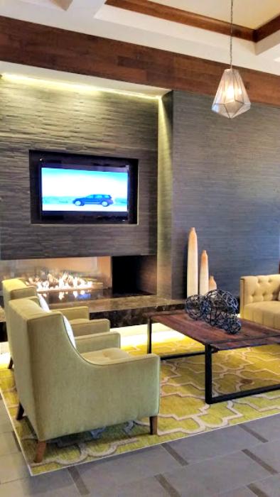 Homewood Suites Hotel lobby 2