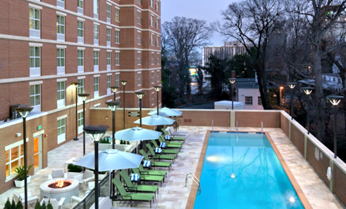 Homewood Suites Is A Hotel That Feels Like Home pool
