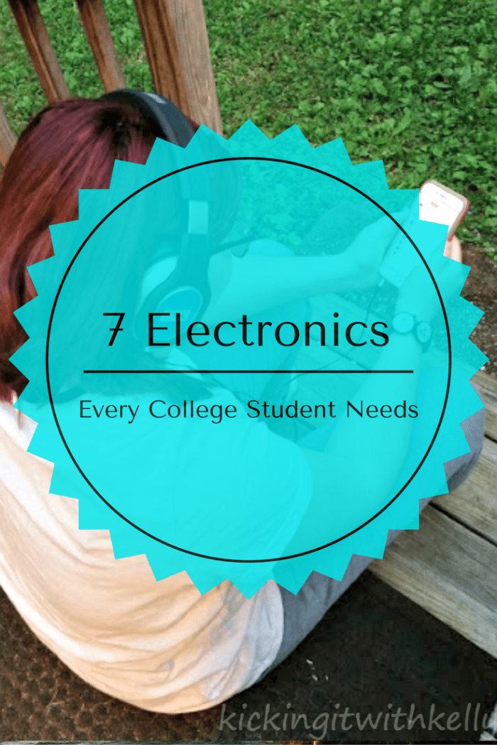 Are you, or your child heading to college this year? Be sure to have these 7 electronics every college freshman needs for success!