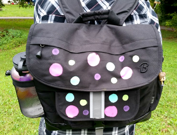 Choosing The Best Backpack For Your Child back of pack