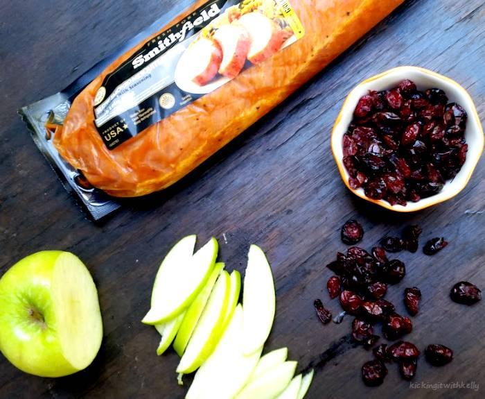 Crockpot Pulled Pork Sandwich With Cranberry Apple Slaw ingredients