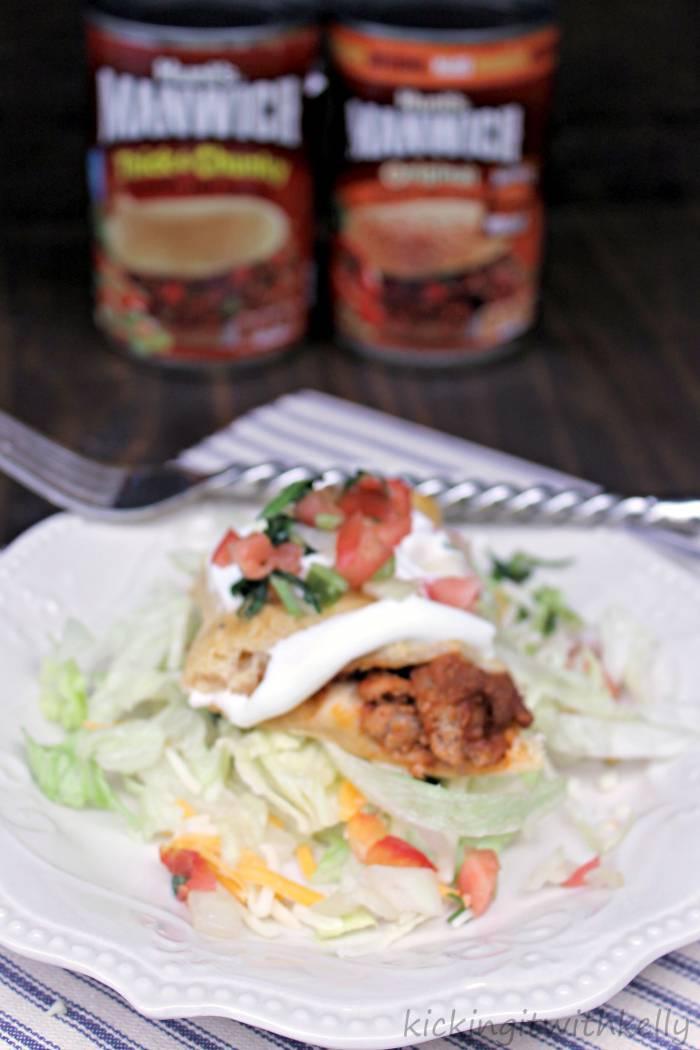 Manwich Sloppy Joe Taco Ring Recipe taco slice