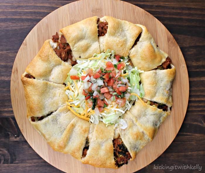 Manwich Sloppy Joe Taco Ring Recipe taco ring
