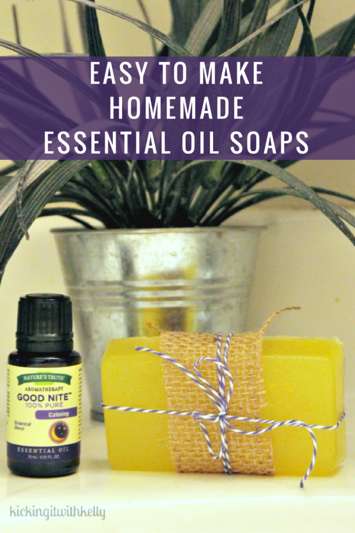 I love the holidays and the gift giving that goes with it. These Easy 3 Ingredient Homemade Essential Oil Soaps smell amazing and make the perfect gift. #ad #StimulateTheSenses @naturestruthvit
