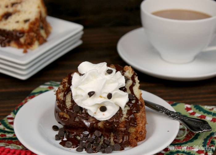 Gilmore Girls Inspired Chocolate Chip Sour Cream Coffee Cake