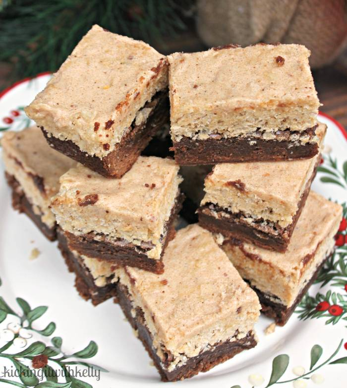 Brown Sugar Cinnamon Kellogg's® Rice Krispies®Brownies 2