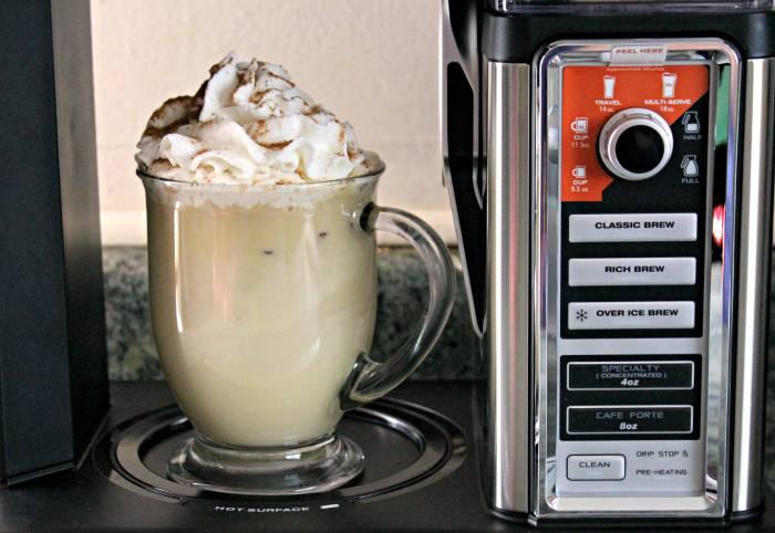 Copycat Starbucks Skinny Eggnog Latte! 2