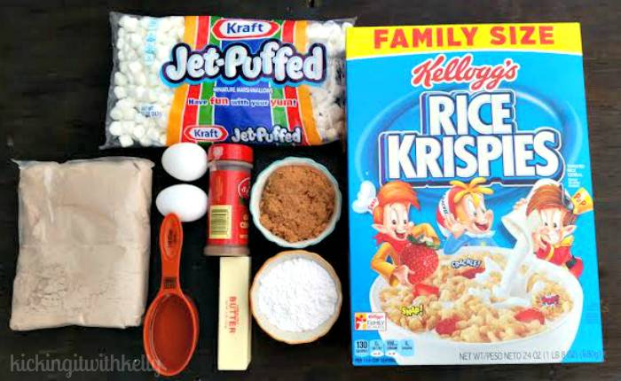 Brown Sugar Cinnamon Kellogg's® Rice Krispies®Brownies supplies