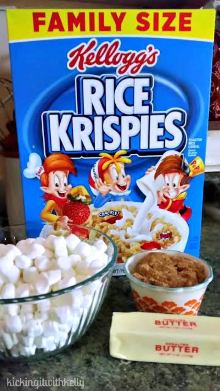 Brown Sugar Cinnamon Kellogg's® Rice Krispies®Brownies