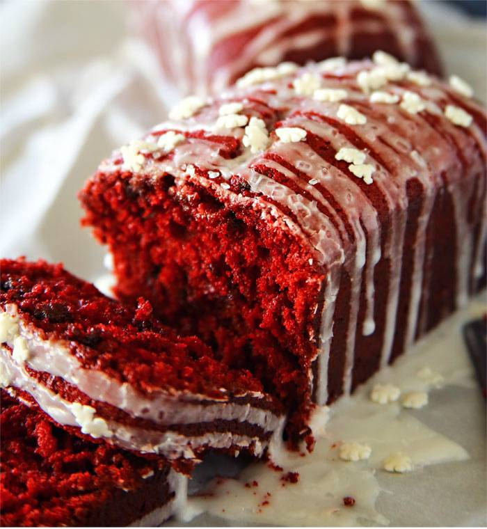 The 14 Best Red Velvet Valentine's Day Dessert Recipes Ever! mini loaves