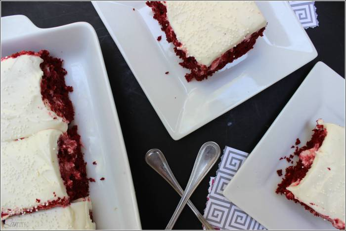 The 14 Best Red Velvet Valentine's Day Dessert Recipes Ever! poke cake