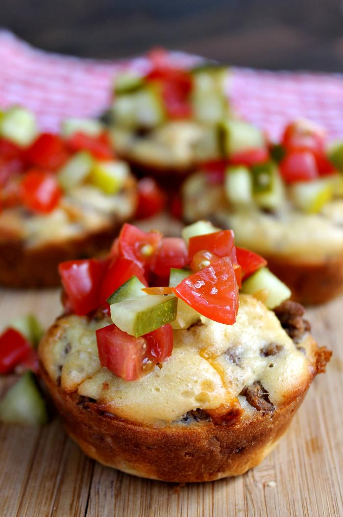 Are you short on time? These Loaded Cheeseburger Muffins are ready in 30 minutes. Be sure to make an extra batch for the freezer!