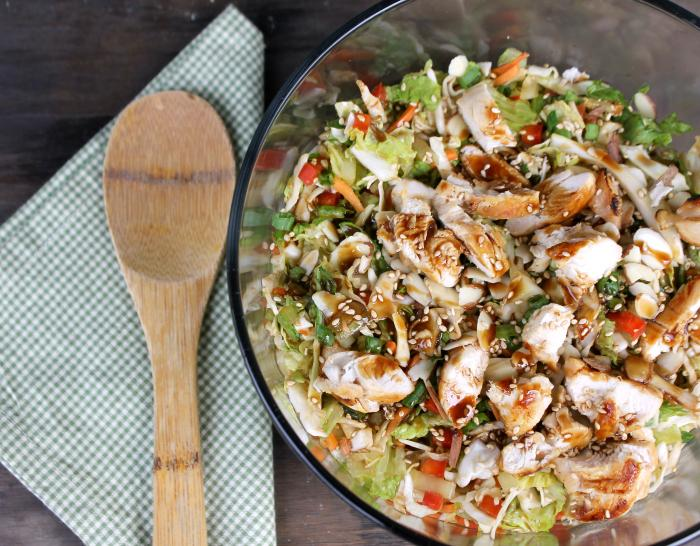 Healthy Meal Idea | Grilled Thai Chicken Chopped Salad 2