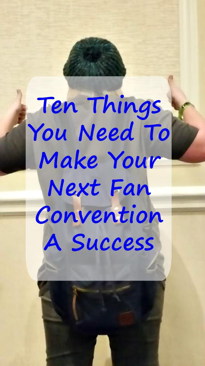 My daughter is a nerd! For Christmas, I bought tickets for an upcoming Supernatural fan convention. I had no idea what to bring! Here is my list of Ten Essentials You Need To Make Your Fan Convention Successful.