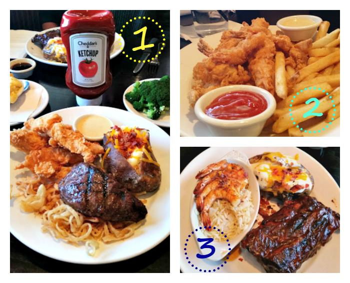 Cheddars Scratch Kitchen entrees