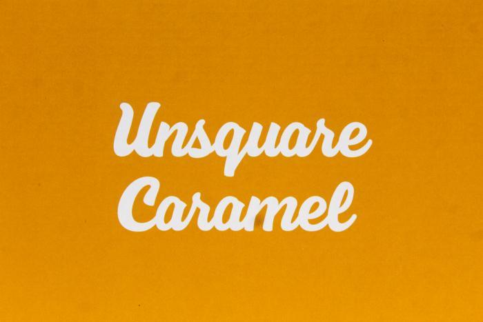 New M&M'S® Caramel box close up