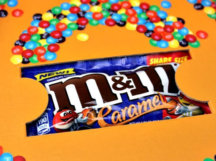 New M&M'S® Caramel box