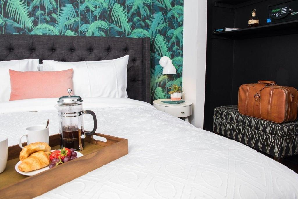 SoBro Guest House Is The Coolest Boutique Hotel In Nashville bedroom