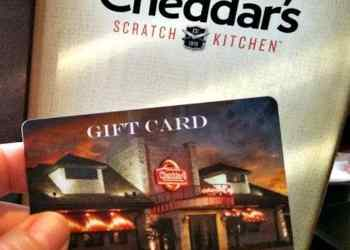 $25 Cheddar's Restaurant Gift Card Giveaway