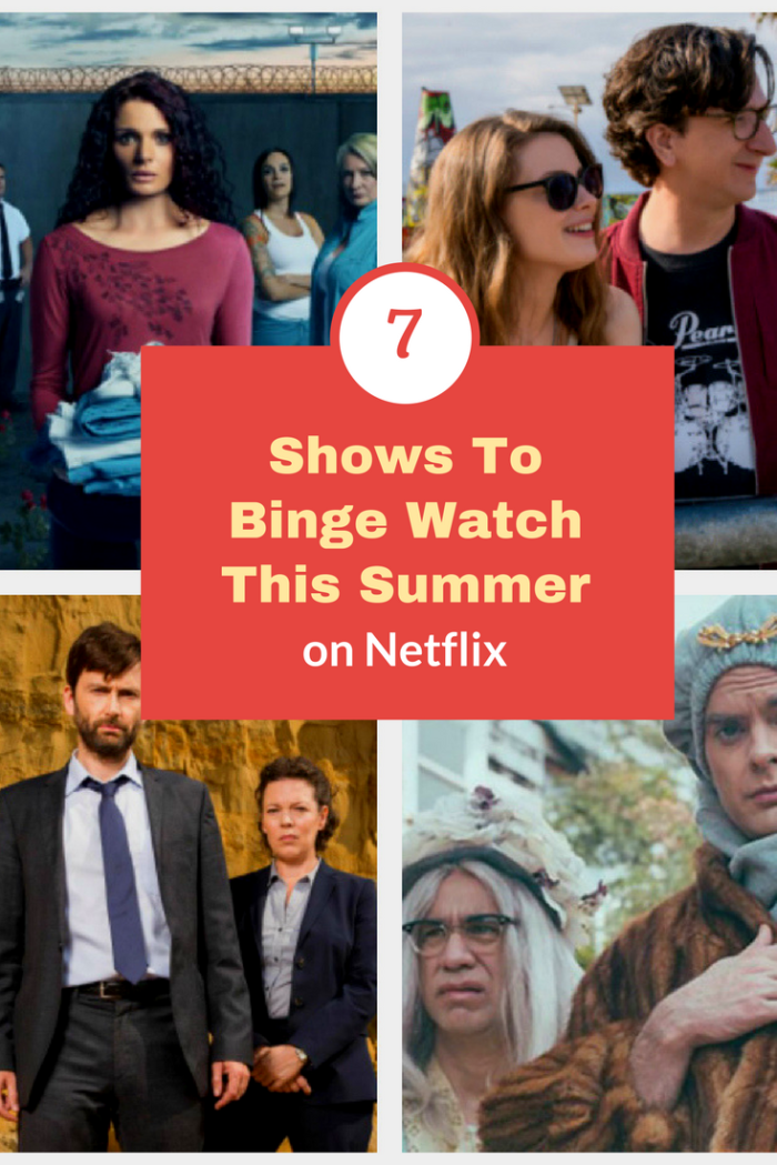 "When I have some ""me"" time, I love to snuggle up and watch a bit of TV. You too? Here are seven shows on Netflix to binge watch this summer! #ad @netflix #streamteam"