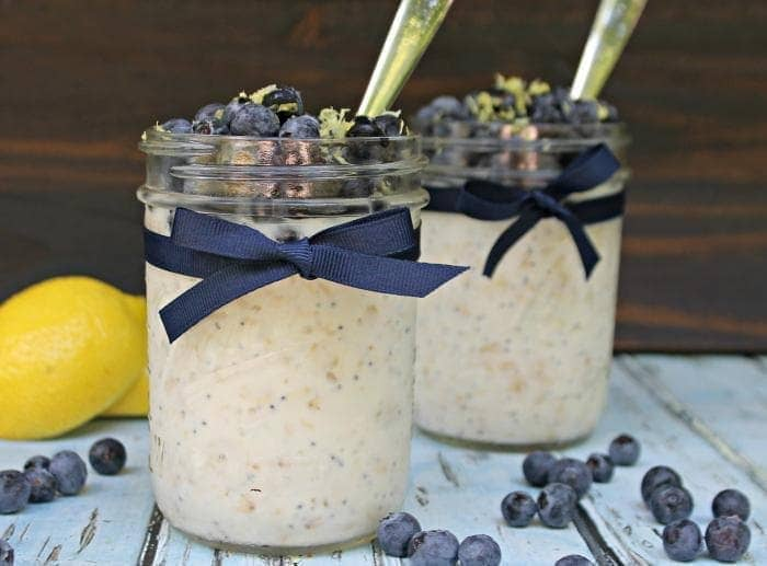 Skinny Lemon Poppy Seed Overnight Oats 3