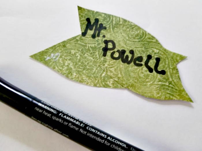 Apple Mason Jar Pencil Holder Teacher Gift Craft step six