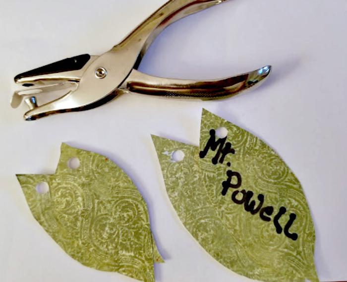 Apple Mason Jar Pencil Holder Teacher Gift Craft step five