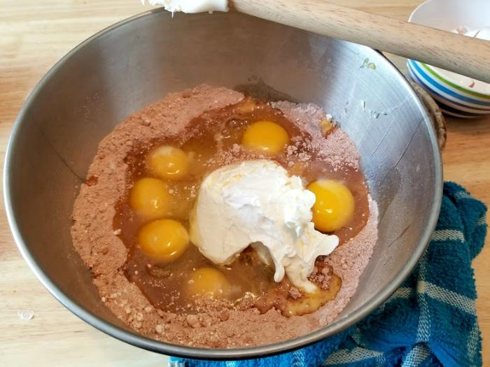 Orange Chocolate Pound Cake With Ganache Drizzle 6