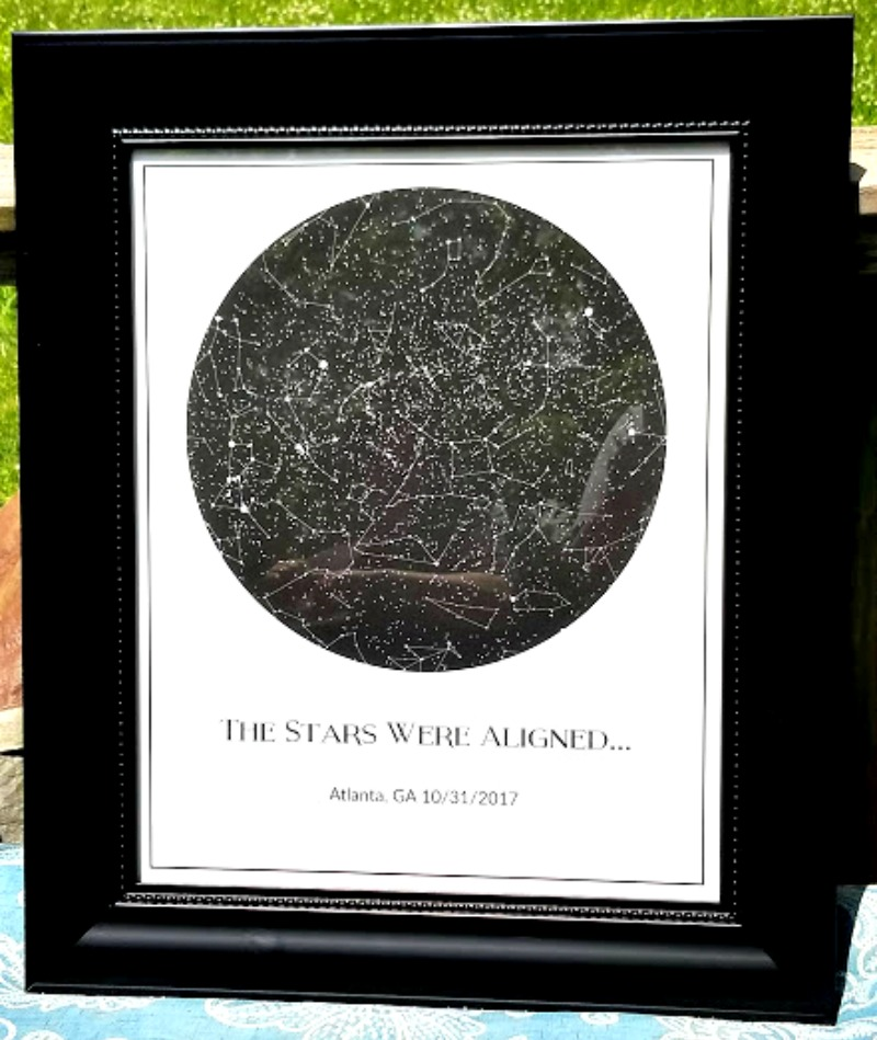 Find A One Of A Kind Gift With Modern Art Map